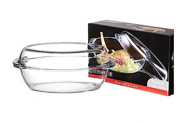 Glas-Bräter 2tlg. Cucina