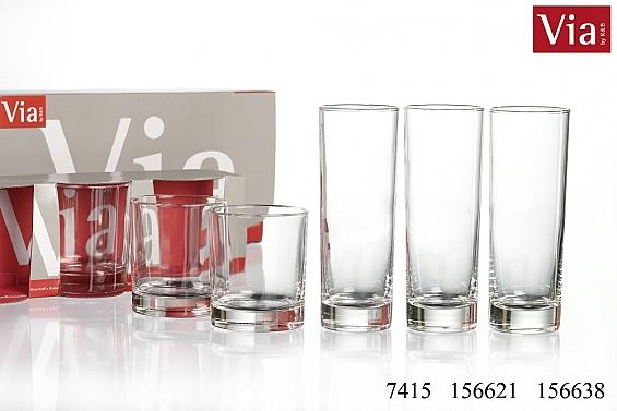 Gläserserie Sina
