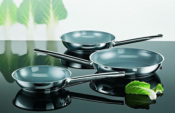 Pfannen-Serie Green Life Edelstahl