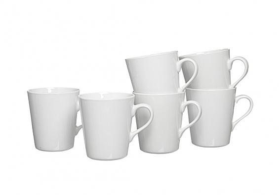 Geschirr-Serie Primo 6er-Set Kaffeebecher