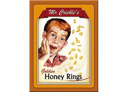 Kühlschrankmagnet Mr. Crickles Honey Rings