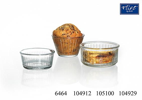 Ragout fin oder Cup Cake- Form Transparent