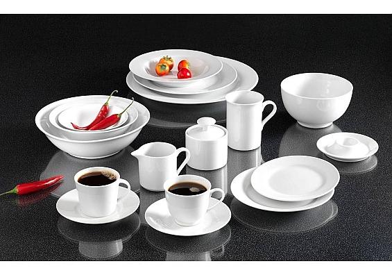 Geschirr-Serie Bianco Kaffeeservice 18tlg. modern