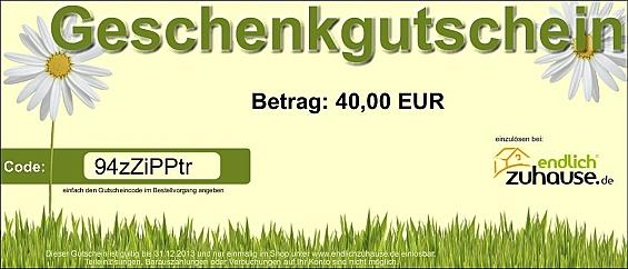 Geschenkgutschein - Neutral Gutscheinwert: 250 EUR
