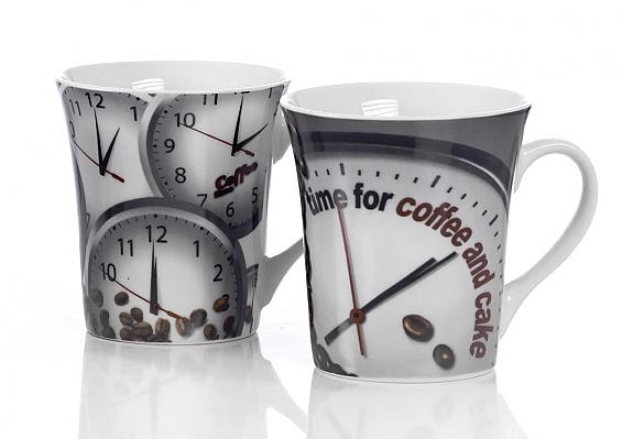 2er-Set Kaffeebecher Kaffeezeit