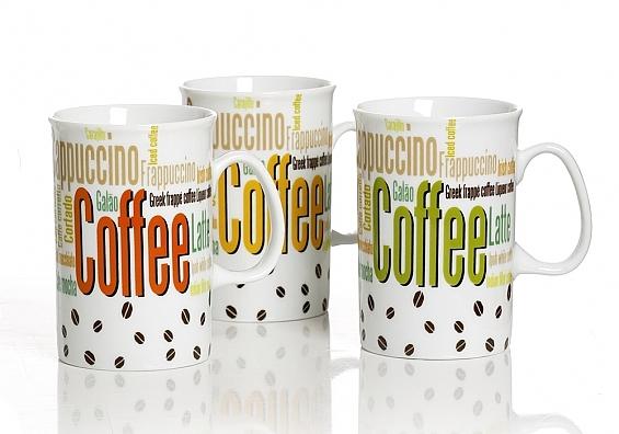 3er-Set Kaffeebecher Coffee Color