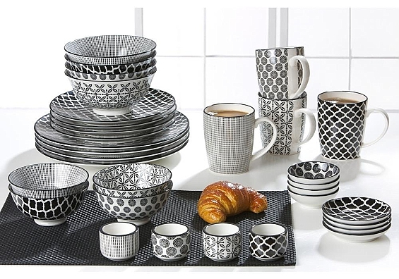 Geschirr-Serie Takeo Mix 4er-Set Kaffeebecher