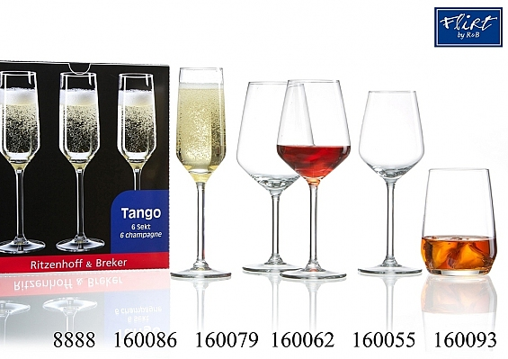 Gläserserie Tango
