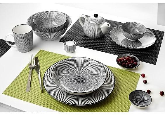 Geschirr-Serie Takeo Stripes