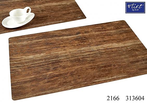 2er-Set Platzmatten Holz