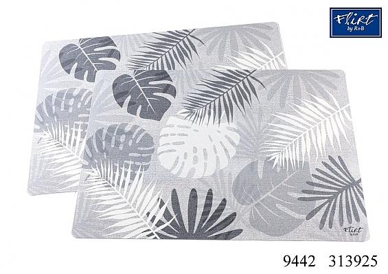 2er-Set Platzmatten Dschungel