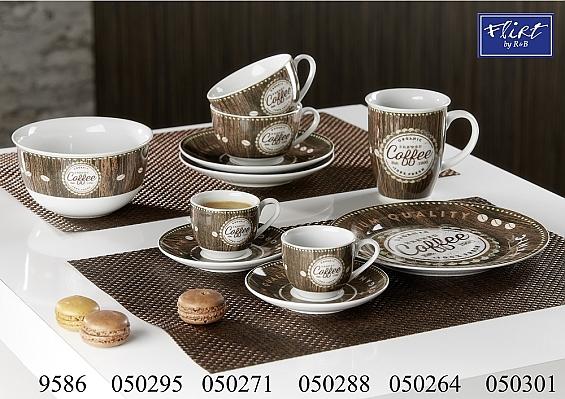 Kaffeegeschirr Organic Coffee 2er-Set Teller