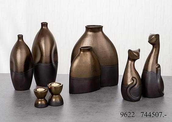 Vasen und Leuchter Ramato