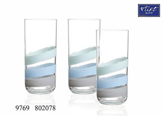 3er-Set Longdrink-Gläser Fresh