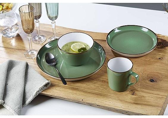 Geschirr-Serie Visby grün