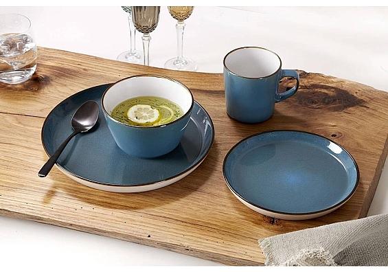 Geschirr-Serie Visby blau