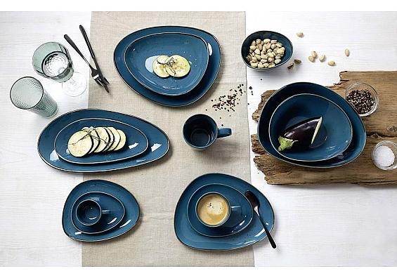 Geschirr-Serie Taste petrol 6er-Set Kaffeebecher