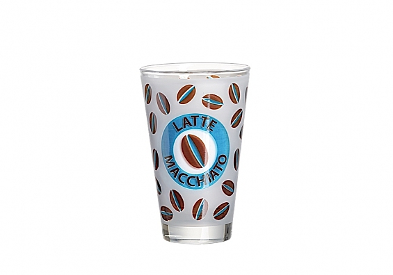 Kaffeegeschirr Cremona 2er-Set Latte Macchiato blau