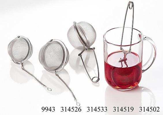 Teezange und Teekugel Assam