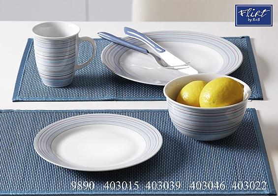 Frühstücks-Set 4tlg. Doppio Circle