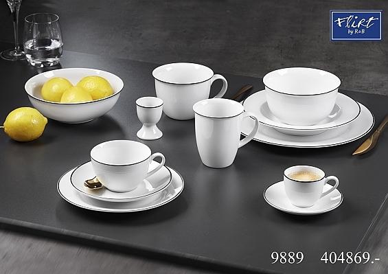 Geschirr-Serie Lineo Espresso-Set 12tlg.