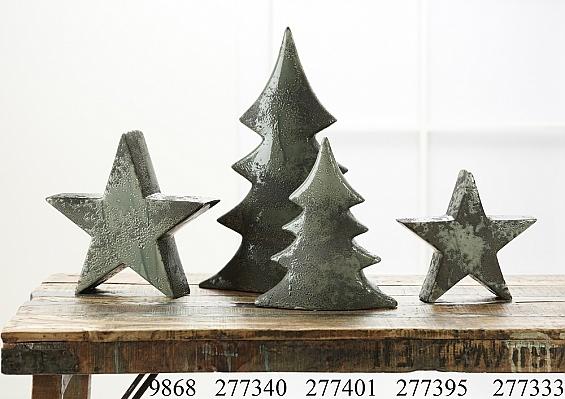 Weihnachtsdekoration Navidad grün