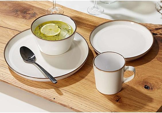 Geschirr-Serie Visby weiß