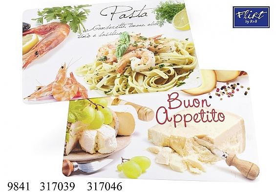 Platzmatte Appetito oder Pasta