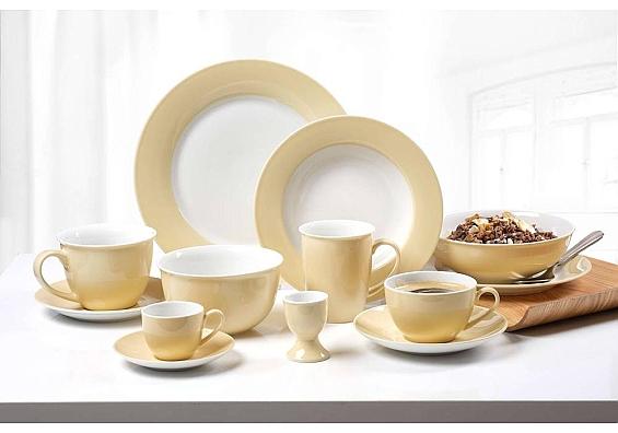 Geschirr-Serie Doppio vanilla 6er-Set Kaffeebecher