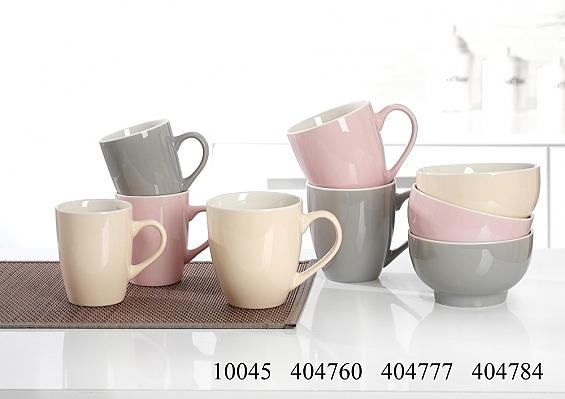 Frühstücksgeschirr Denia 3er-Set Jumbo-Kaffeebecher