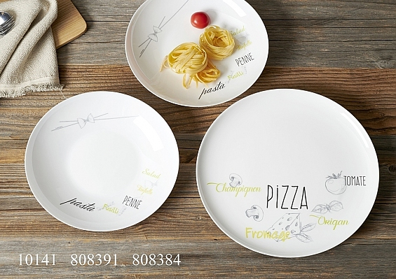 Pizza-oder Pastateller Friends