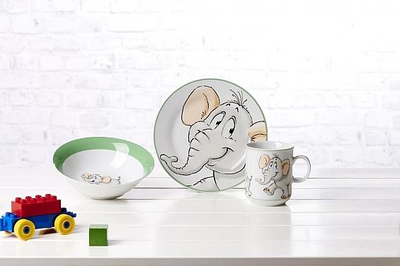 Kindergeschirr Elefant Eddie
