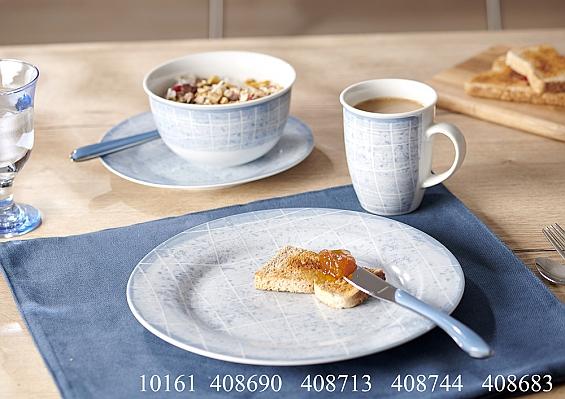 Frühstücksgeschirr Nordic Ellen