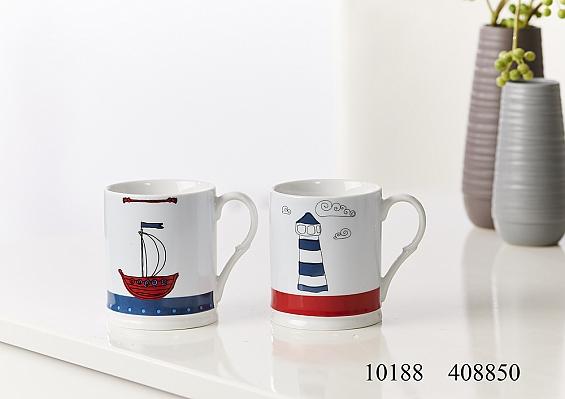 2er-Set Kaffeebecher Sailing