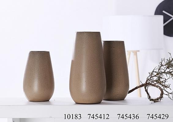 Vasenserie Finja sand
