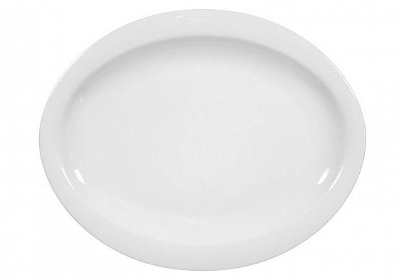 Frühstücksteller oval 25cm Top Life