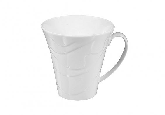 Kaffeebecher Allegro weiss