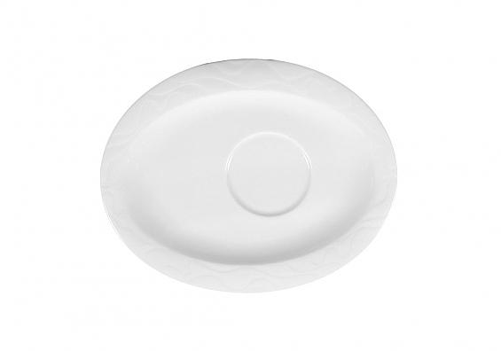 Untere oval Allegro weiß