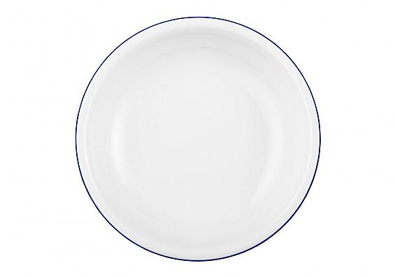Suppenteller Compact Blaurand