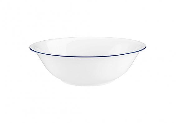 Salatschüssel 23 cm Compact Blaurand