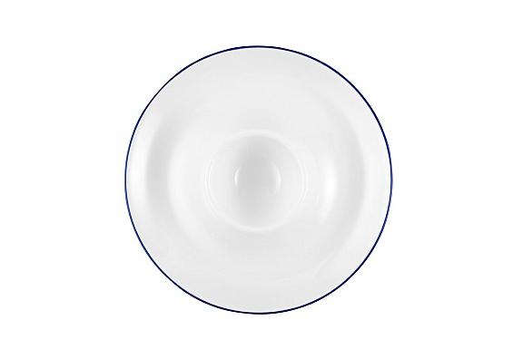 Eierbecher mit Ablage Compact Blaurand