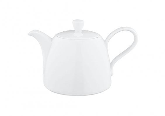 Kaffee-oder Teekanne Life weiß