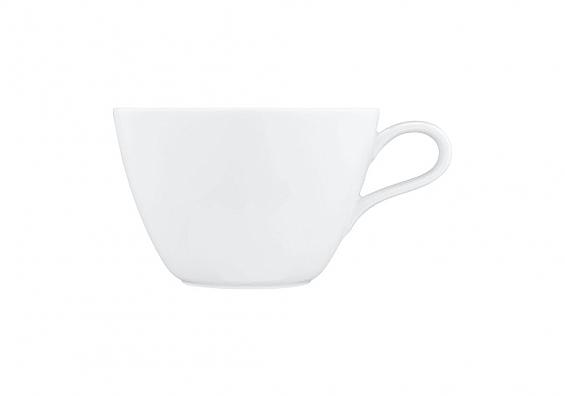Milchkaffeetasse Life weiß
