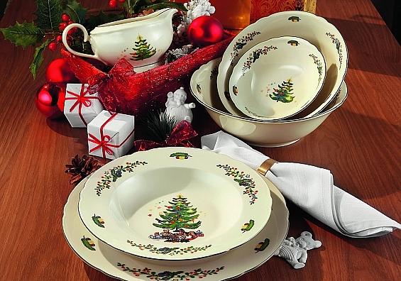 Geschirr-Serie Marieluise Weihnachten