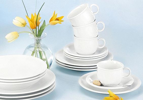 Geschirr-Serie Compact weiß