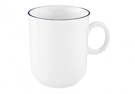 Geschirr-Serie Compact Blaurand 6er-Set Kaffeebecher