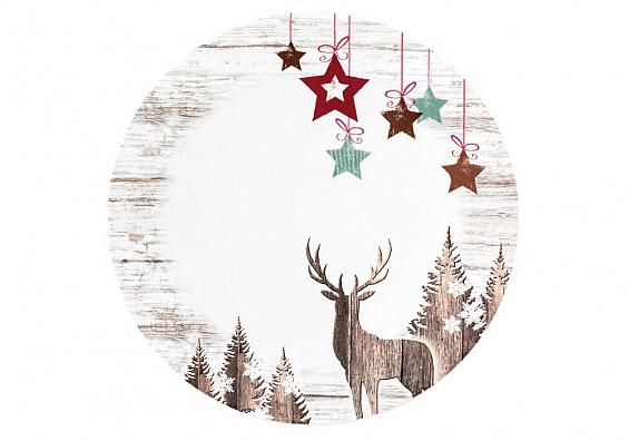 Weihnachtsgeschirr Life Christmas Speiseteller-Set 2tlg.